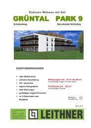 Exklusiv Wohnen mit Stil - Leithner Bau