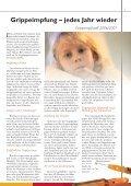 Grippeimpfung – jedes Jahr wieder ... - Kristall-Apotheke - Page 6
