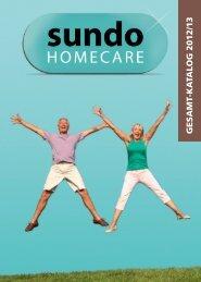 GESAMT-KA TALOG 2012/13 - der Sundo Homecare GmbH