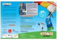 Flyer vom 30. Juni bis zum 13. September - Storch on Tour