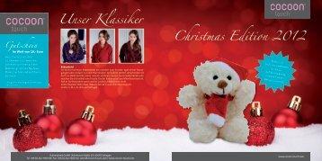 Christmas Edition 2012 Unser Klassiker Gutschein - cocoon touch