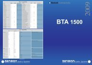 BTA 1500 - Car Solutions