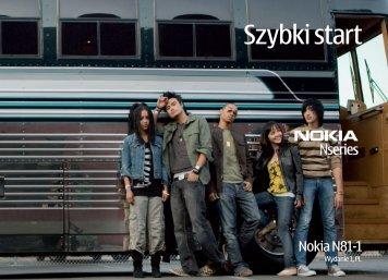 Szybki start - Nokia
