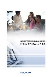 User's Guide for Nokia PC Suite 6.82