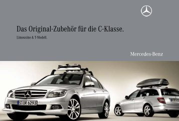 Das Original-Zubehör für die C-Klasse. - Mercedes