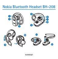 Nokia Bluetooth Headset BH-208
