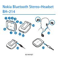 Nokia Bluetooth Stereo-Headset BH-214