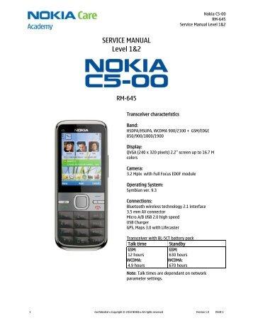 motores c5 Nokia N73 Nokia N73