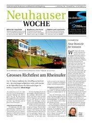 Gemeinderatswahlen Neuhausen am Rheinfall,28.Oktober 2012 ...