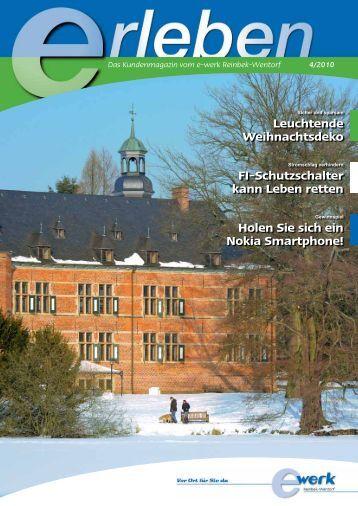 Schutzschalter magazine - Leuchtende weihnachtsdeko ...