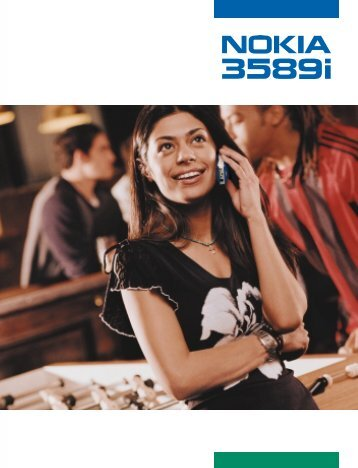 Nokia 3589i User's Guide - Page Plus Cellular