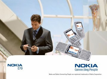 Nokia E70 Mobile VPN Client User's Guide