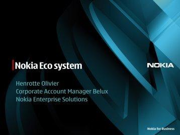 Nokia Eco system - Awt