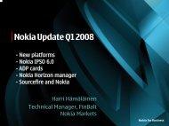 Nokia Update Q1 2008 - Stallion