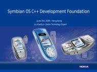 Forum Nokia Tools and Technologies - Nokia Developer - 你的灵感,我 ...