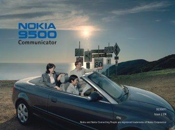 Nokia 9500 Backing up data