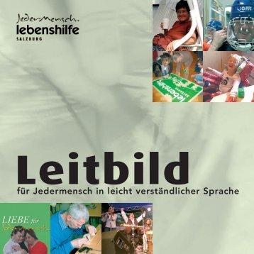 Leitbild - Lebenshilfe Salzburg