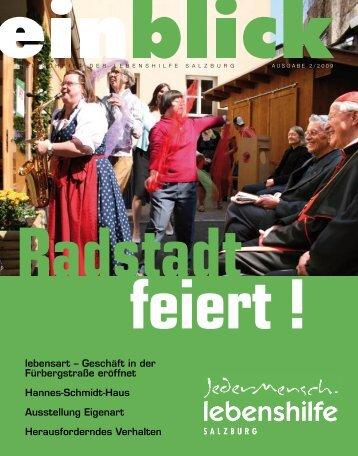 Radstadt feiert - Lebenshilfe Salzburg