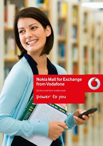 Nokia Mail for Exchange from Vodafone