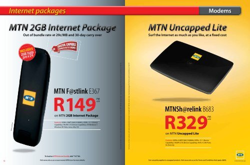 Internet Packages
