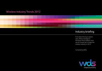 Industry briefing Wireless Industry Trends 2012 - WDS