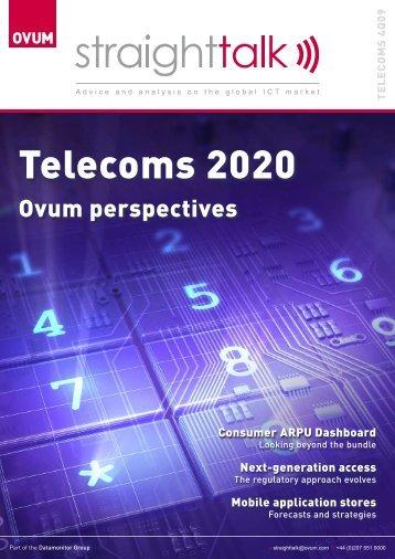 Telecoms 2020: Ovum Perspectives (November 2009)