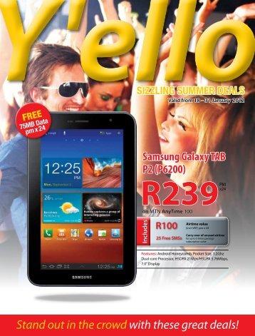 Yello Trader Jan 2012 - MTN Service Provider