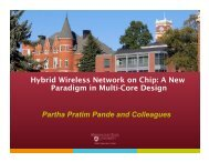 Hybrid Wireless Network on Chip: A New Paradigm in Multi-Core ...