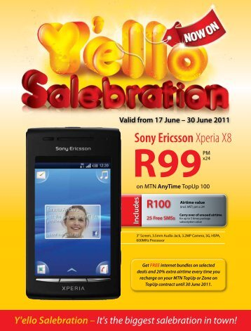 R100 Airtime value - MTN