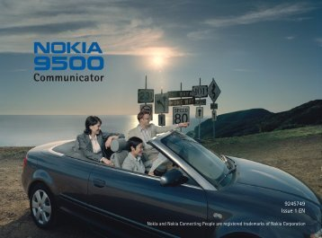 Establishing a WLAN connection - Nokia