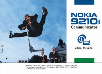 1. PC Suite pentru Nokia 9210i Communicator