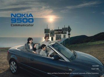 Nokia 9500 Communicator Bounce user guide