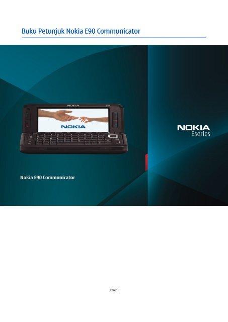Buku Petunjuk Nokia E90 Communicator