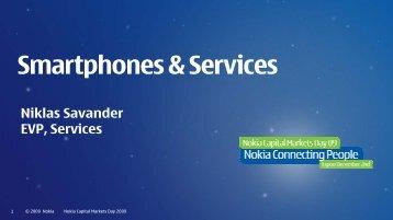 Smartphones & Services - Nokia