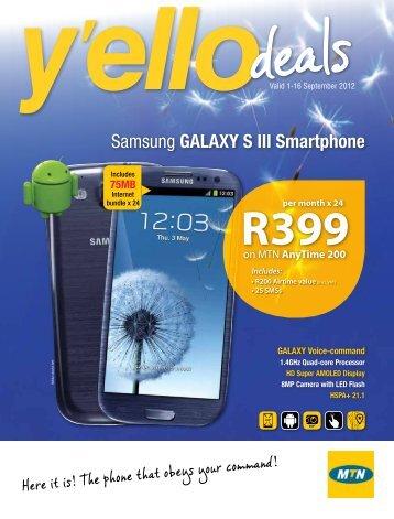 Samsung Galaxy S III Smartphone - MTN