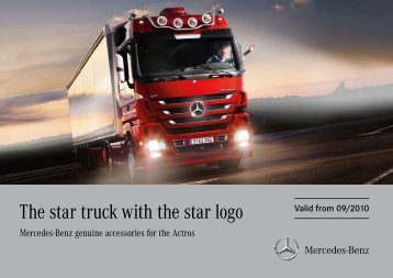 The star truck with the star logo - mbscad.ru