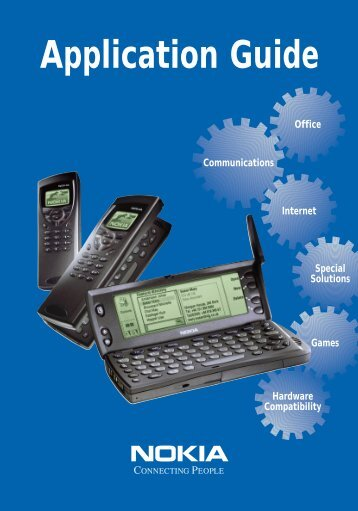 Nokia Communicators Application Guide (PDF file)