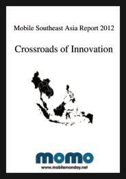 Mobile Southeast Asia Report 2012 - Mobile Monday