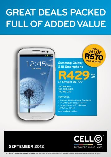 value - Cell C