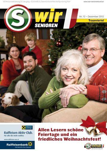 Termin: 26. Juni - 3. Juli 2013 - OÖ Seniorenbund