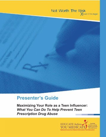 Presenter's Guide - National Council on Patient Information and ...