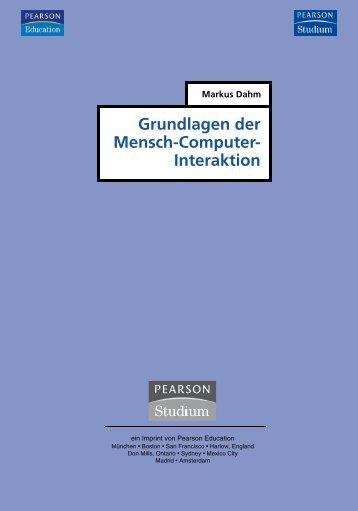 Grundlagen der Mensch-Computer-Interaktion  - *ISBN ...