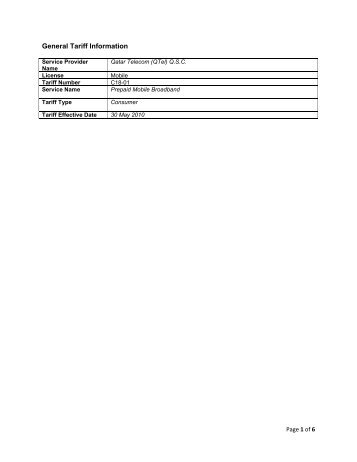 C18-01 Prepaid Mobile Broadband - Qtel