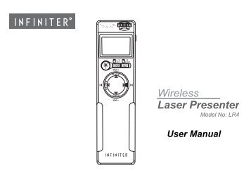 Wireless Laser Presenter - Optoma