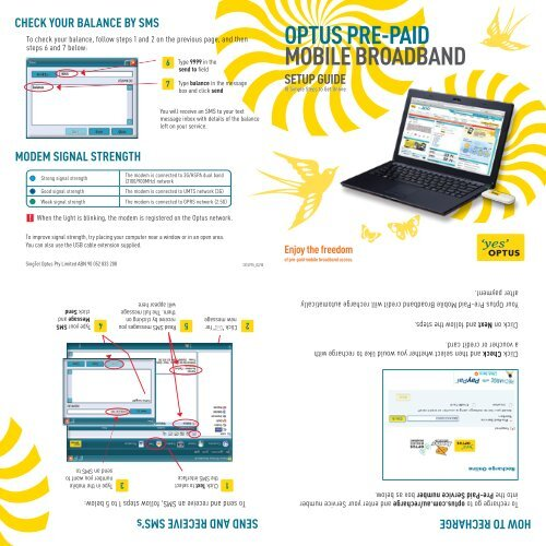 Optus prepaid mobile support