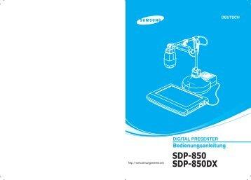 SDP-850 SDP-850DX - Medium