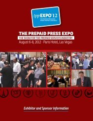 One event - The Prepaid Press Expo
