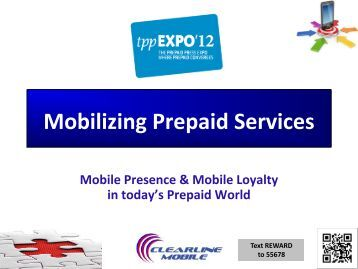 Mobilizing Prepaid Services - ClearLine Mobile