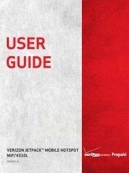 Verizon Jetpack MiFi 4510L Prepaid User Guide ... - Novatel Wireless