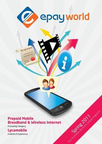 Prepaid Mobile Broadband & Wireless Internet - ePay